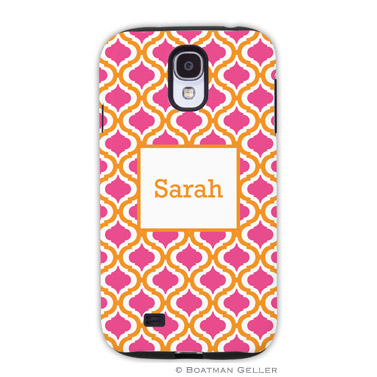 Samsung Galaxy & Samsung Note Case - Kate Tangerine & Raspberry