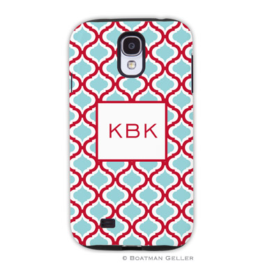 Samsung Galaxy & Samsung Note Case - Kate Red & Teal