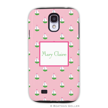 Samsung Galaxy & Samsung Note Case - Little Sailboat Pink