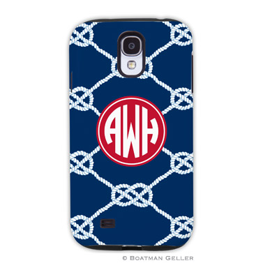 Samsung Galaxy & Samsung Note Case - Nautical Knot Navy