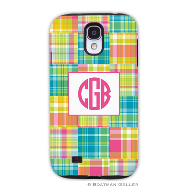 Samsung Galaxy & Samsung Note Case - Madras Patch Bright