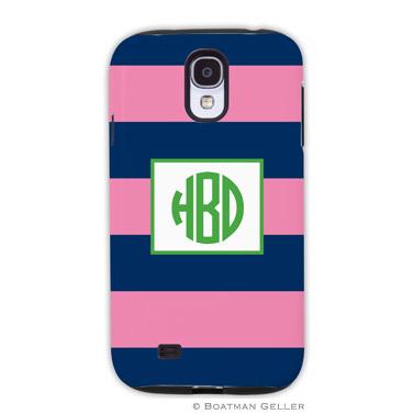 Samsung Galaxy & Samsung Note Case - Ruby Navy & Pink