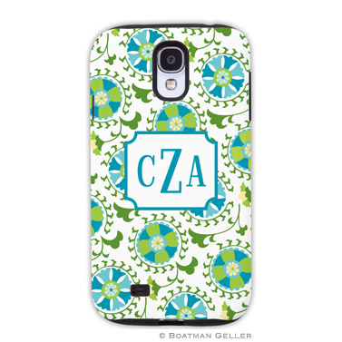 Samsung Galaxy & Samsung Note Case - Suzani Teal