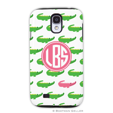 Samsung Galaxy & Samsung Note Case - Alligator Repeat by Boatman Geller, Discounted