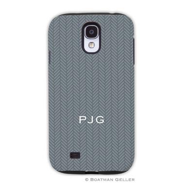 Samsung Galaxy & Samsung Note Case - Herringbone Gray