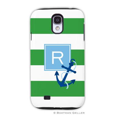 Samsung Galaxy & Samsung Note Case - Stripe Anchor