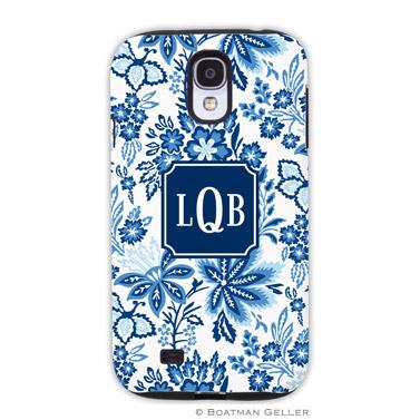 Samsung Galaxy & Samsung Note Case - Classic Floral Blue