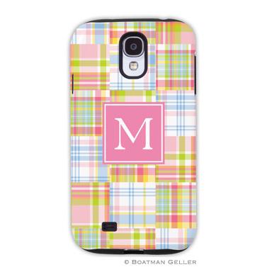 Samsung Galaxy & Samsung Note Case - Madras Patch Pink
