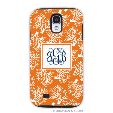 Samsung Galaxy & Samsung Note Case - Coral Repeat