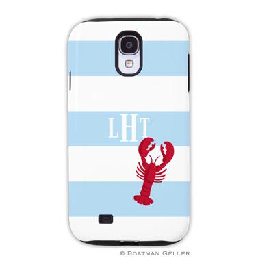 Samsung Galaxy & Samsung Note Case - Stripe Lobster by Boatman Geller, Discounted