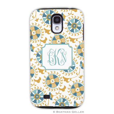 Samsung Galaxy & Samsung Note Case - Suzani Gold