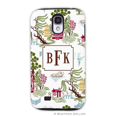Samsung Galaxy & Samsung Note Case - Chinoiserie Autumn by Boatman Geller, Discounted