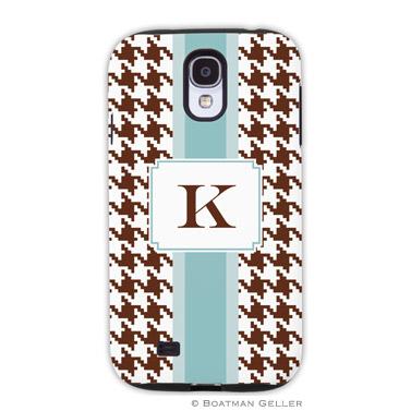 Samsung Galaxy & Samsung Note Case - Alex Houndstooth Chocolate