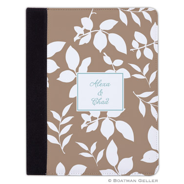 iPad, iPad Mini, iPad Air Cases & Cover - Silo Leaves Mocha