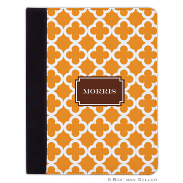 iPad, iPad Mini, iPad Air Cases & Cover - Bristol Tile Tangerine