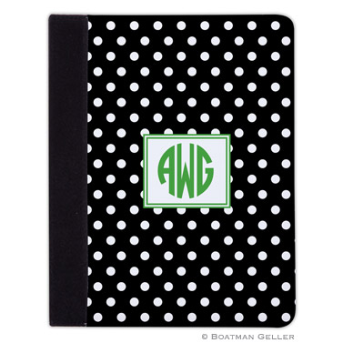 iPad, iPad Mini, iPad Air Cases & Cover - Polka Dot Black