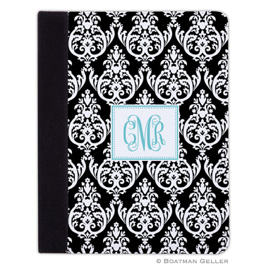 iPad, iPad Mini, iPad Air Cases & Cover - Madison Damask Black