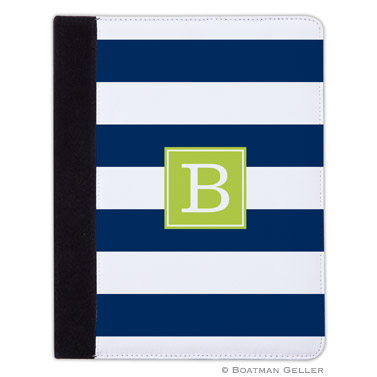 iPad, iPad Mini, iPad Air Cases & Cover - Awning Stripe Navy