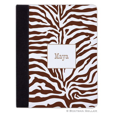 iPad, iPad Mini, iPad Air Cases & Cover - Zebra Chocolate