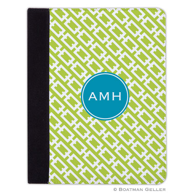 iPad, iPad Mini, iPad Air Cases & Cover - Chain Link Lime