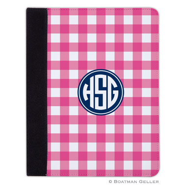 iPad, iPad Mini, iPad Air Cases & Cover - Classic Check Raspberry