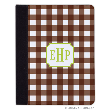 iPad, iPad Mini, iPad Air Cases & Cover - Classic Check Chocolate