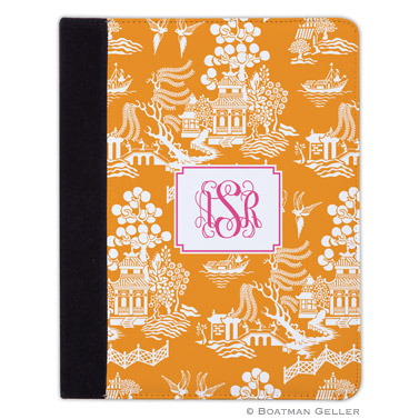 iPad, iPad Mini, iPad Air Cases & Cover - Chinoiserie Tangerine