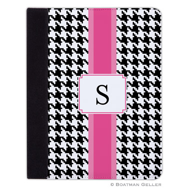 iPad, iPad Mini, iPad Air Cases & Cover - Alex Houndstooth Black