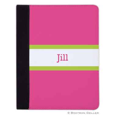 iPad, iPad Mini, iPad Air Cases & Cover - Stripe Raspberry & Lime