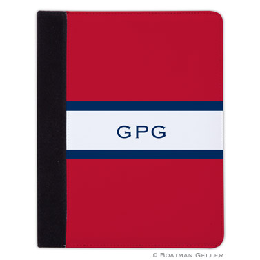 iPad, iPad Mini, iPad Air Cases & Cover - Stripe Red & Navy
