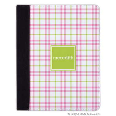 iPad, iPad Mini, iPad Air Cases & Cover - Miller Check Pink & Green