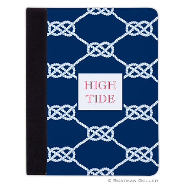 iPad, iPad Mini, iPad Air Cases & Cover - Nautical Knot Navy