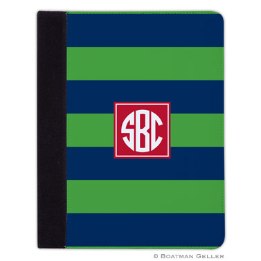 iPad, iPad Mini, iPad Air Cases & Cover - Rugby Navy & Kelly