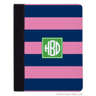 iPad, iPad Mini, iPad Air Cases & Cover - Rugby Navy & Pink