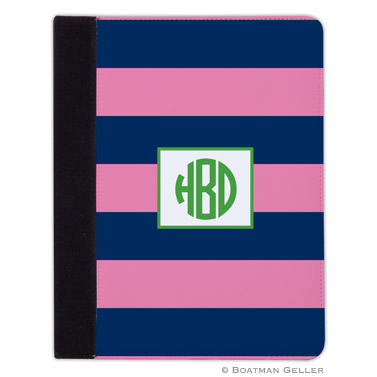 iPad, iPad Mini, iPad Air Cases & Cover - Ruby Navy & Pink