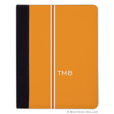 iPad, iPad Mini, iPad Air Cases & Cover - Racing Stripe Orange