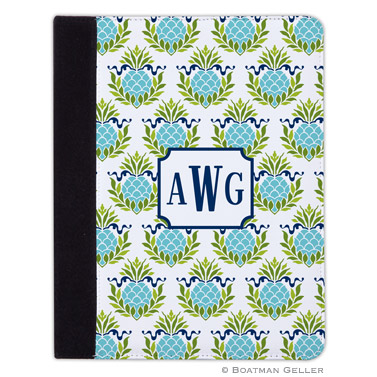 iPad, iPad Mini, iPad Air Cases & Cover - Pineapple Repeat Teal