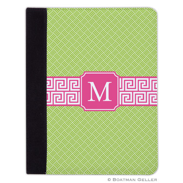 iPad, iPad Mini, iPad Air Cases & Cover - Greek Key Band Pink for Tablets by Boatman Geller, Discounted