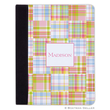 iPad, iPad Mini, iPad Air Cases & Cover - Madras Patch Pink