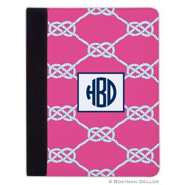 iPad, iPad Mini, iPad Air Cases & Cover - Nautical Knot Raspberry