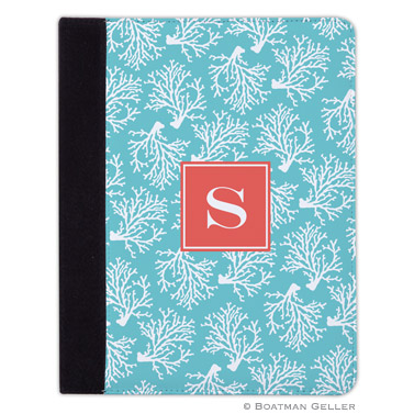 iPad, iPad Mini, iPad Air Cases & Cover - Coral Repeat Teal for Tablets by Boatman Geller, Discounted