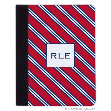 iPad, iPad Mini, iPad Air Cases & Cover - Repp Tie Red & Navy