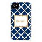 iPod & iPhone Cell Phone Case - Bristol Tile Navy by Boatman Geller, Discounted