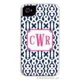 iPod & iPhone Cell Phone Case - Cameron Navy by Boatman Geller, Discounted
