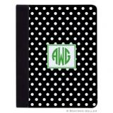iPad, iPad Mini, iPad Air Cases & Cover - Polka Dot Black for Tablets by Boatman Geller, Discounted