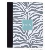 iPad, iPad Mini, iPad Air Cases & Cover - Zebra Gray for Tablets by Boatman Geller, Discounted
