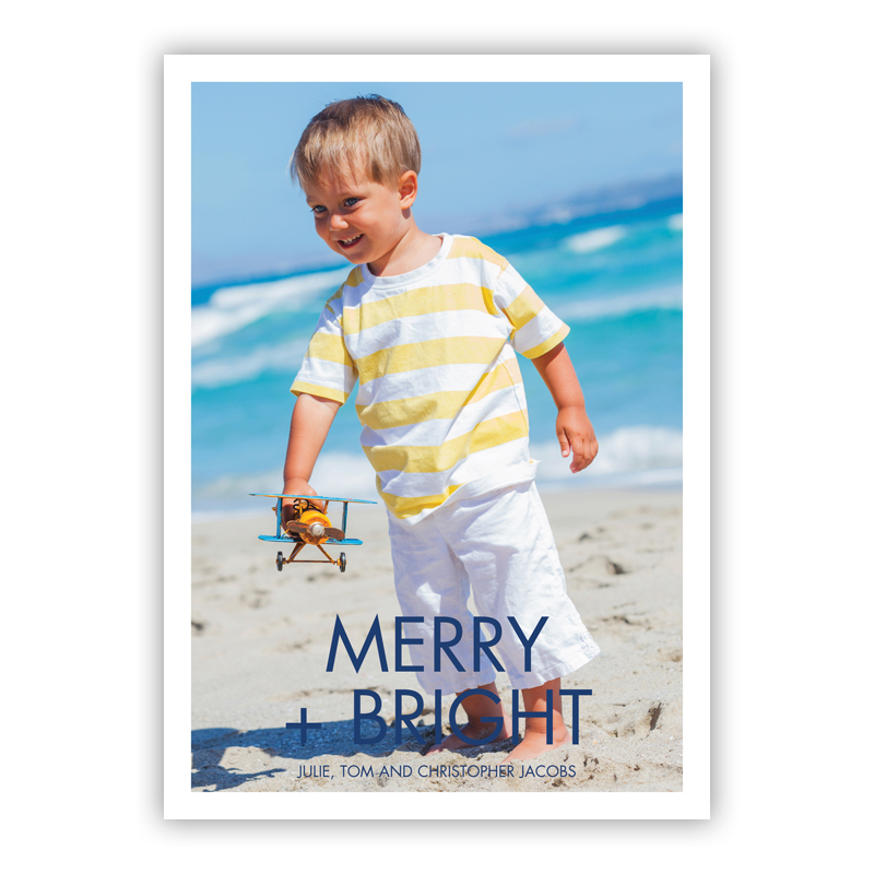 Futura Merry + Bright Holiday Flat Photocards
