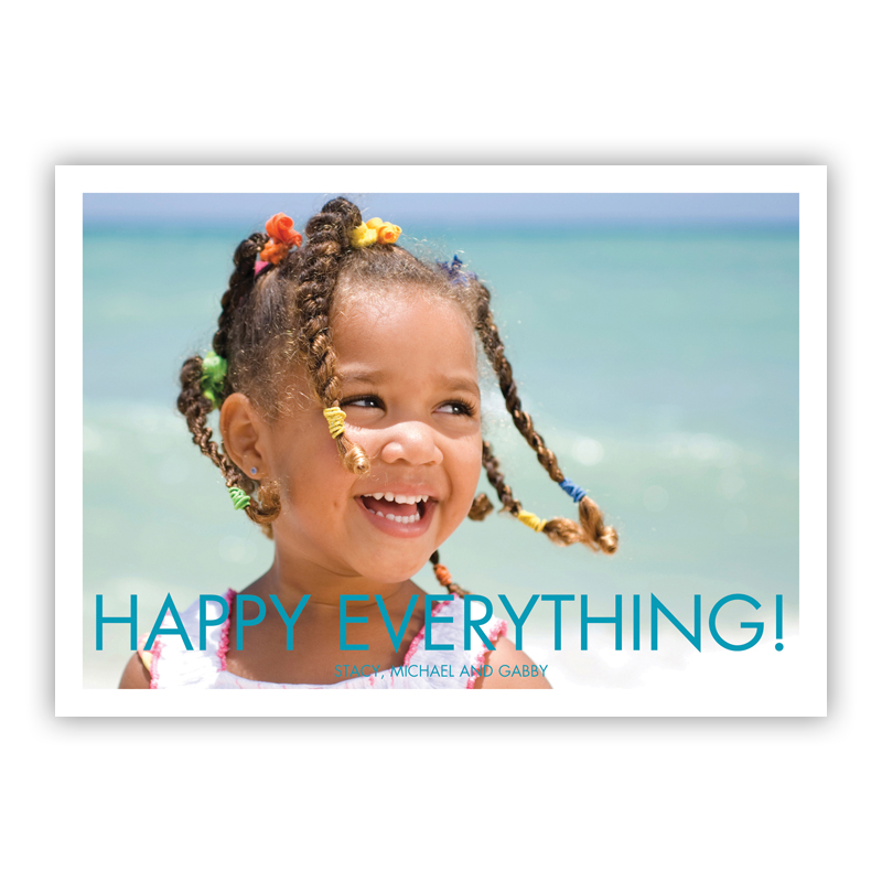 Futura Happy Everything Holiday Flat Photocards