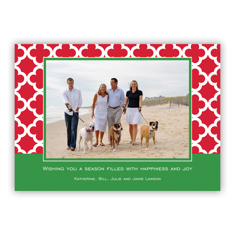 Bristol Tile Pine Holiday Flat Photocards