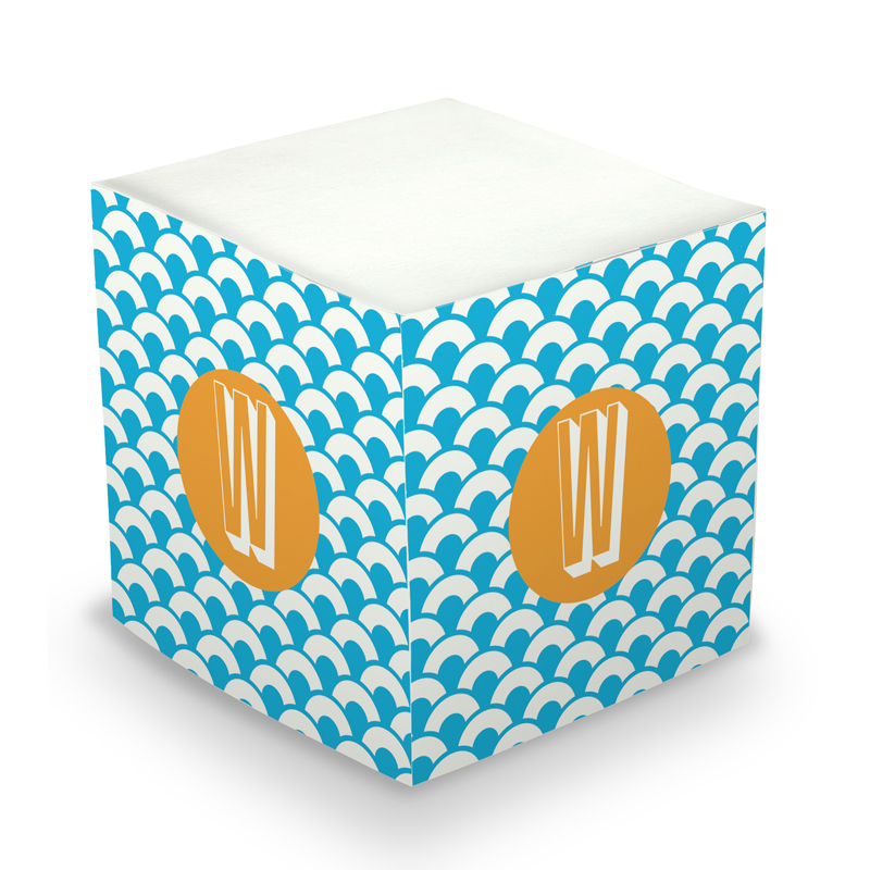 Sticky Note Cube - Coins